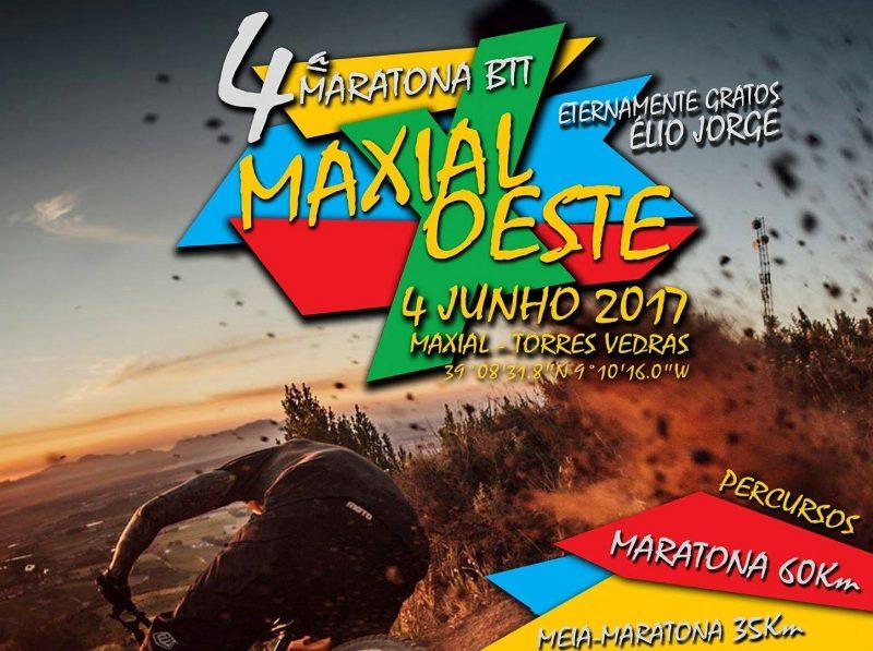 Cartaz quarta maratona BTT Maxial