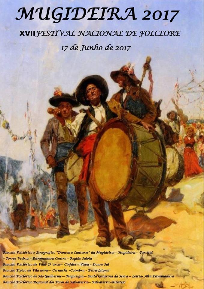 Cartaz festival folclore mugideira