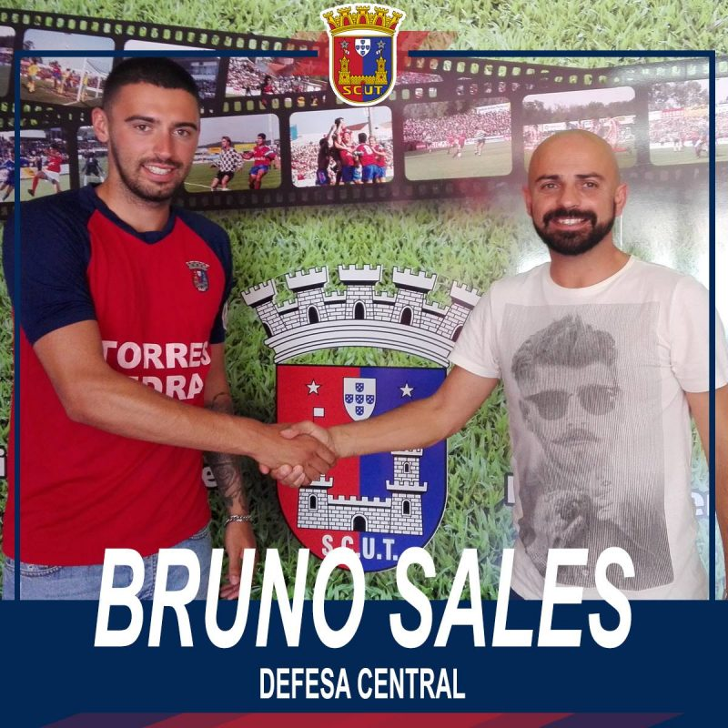 Torreense renova com central Bruno Sales