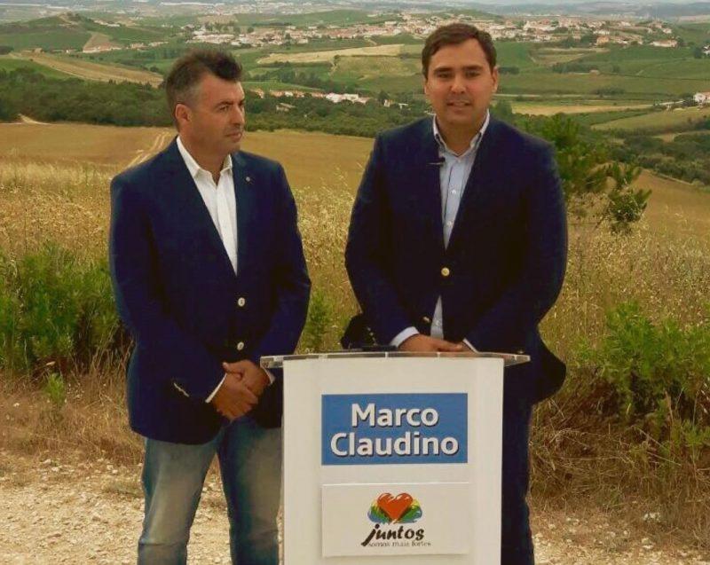 Eduardo Bernardes candidato na Ventosa