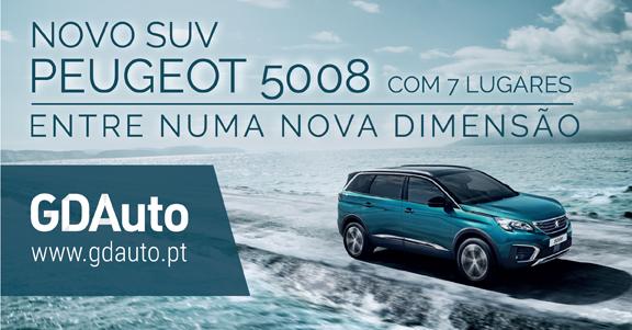 Novo 5008 na GDAuto