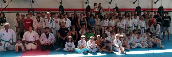 Workshop de artes marciais na Oestesport
