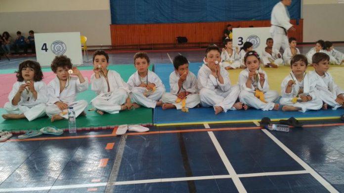 Judocas da Física em destaque na Lourinhã