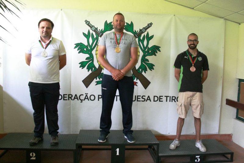 José Pereira Campeão Nacional de Tiro