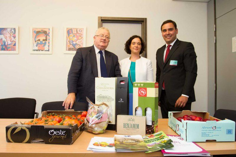 Marco Claudino em Bruxelas para promover a agricultura de Torres Vedras