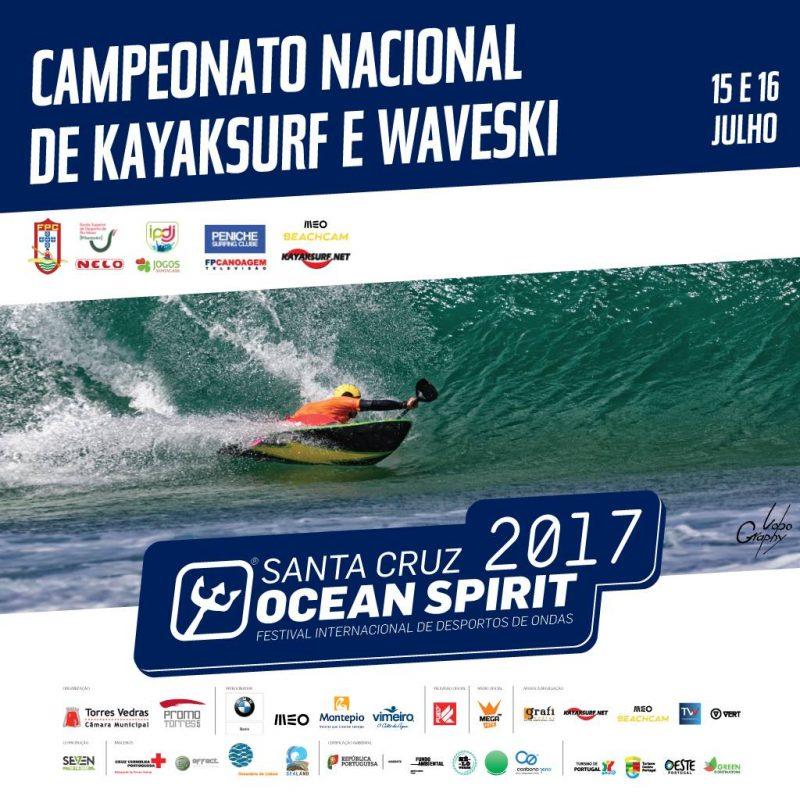 Kayaksurf e Waveski marcam o primeiro fim de semana no Ocean Spirit