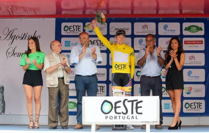 Andreas Vangstad é o primeiro camisola amarela no Troféu Joaquim Agostinho