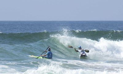 Kayaksurg e Surf adaptado no Santa Cruz Ocean Spirit