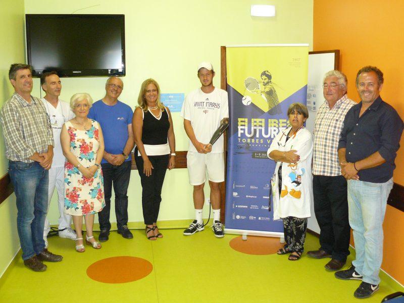 Futures Torres Vedras apoia Pediatria Hospital