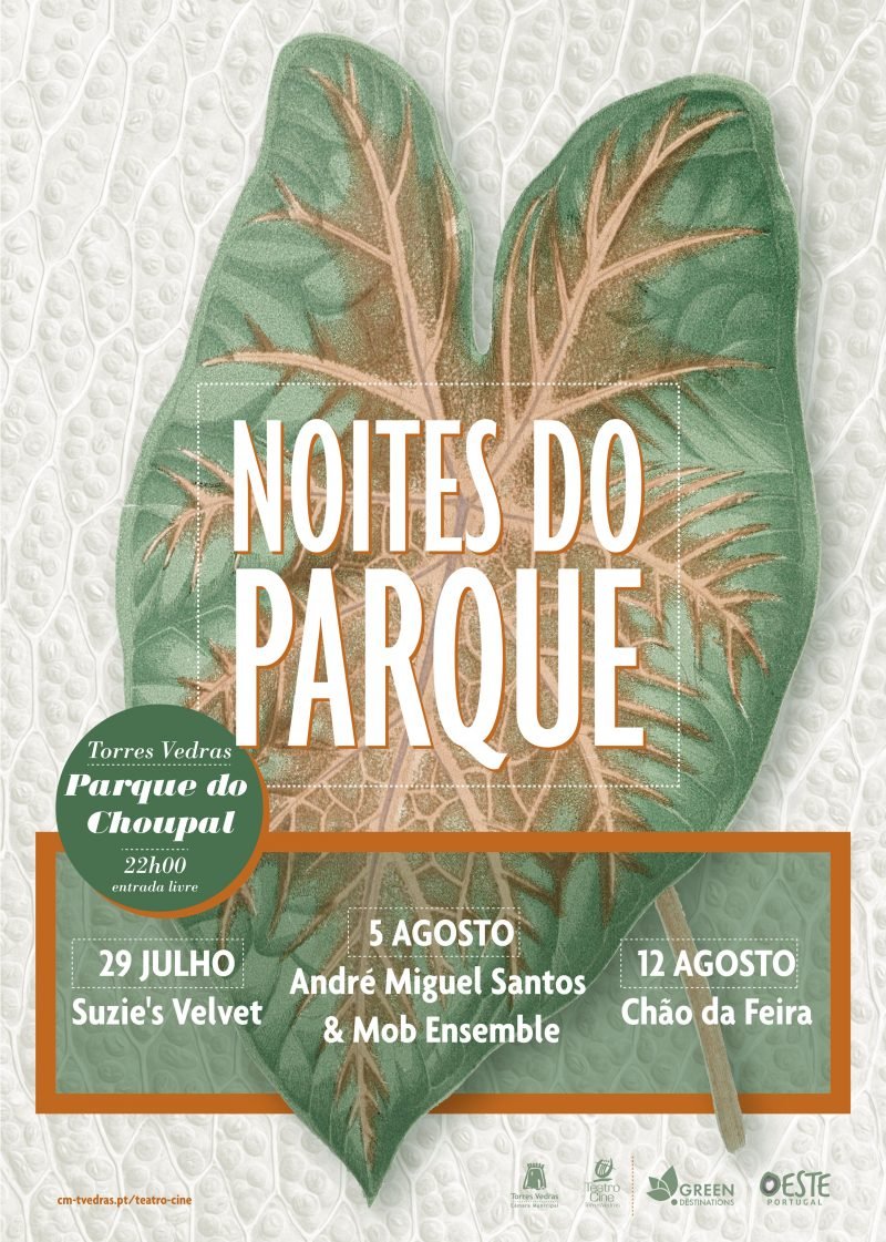 Cartaz noites do parque