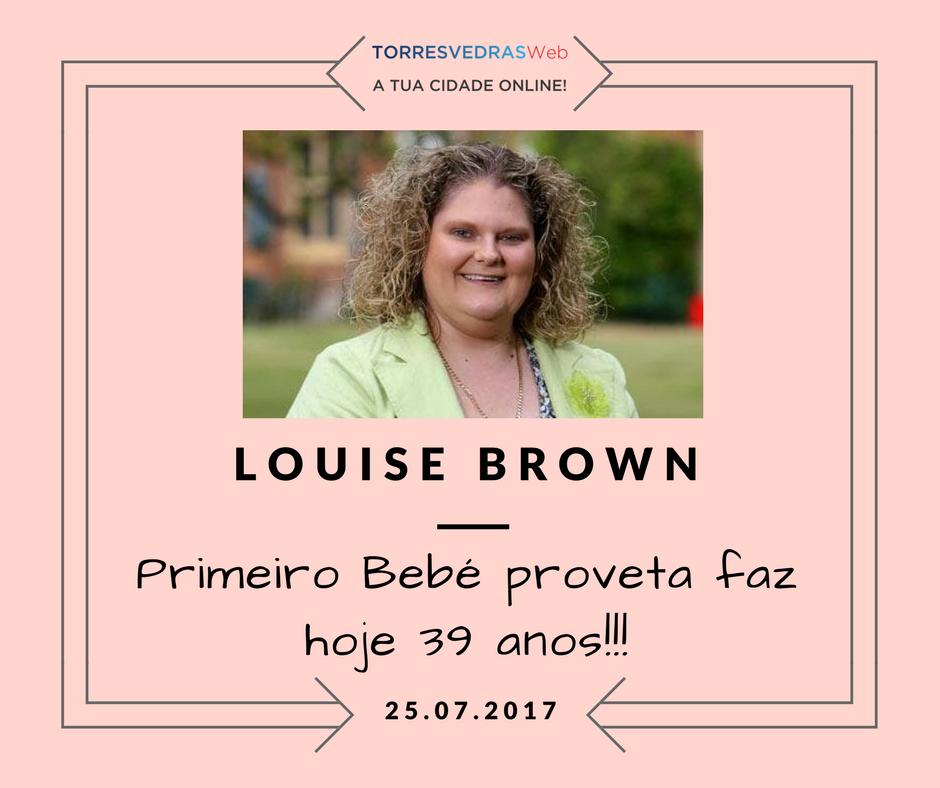 Parabéns Louise Brown