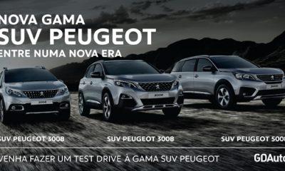 Venha testar o novo SUV Peugeot à GDAuto