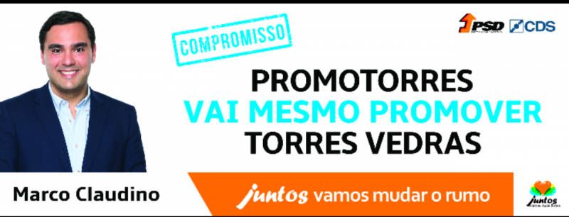 Marco Claudino quer a Promotorres a promover Torres Vedras
