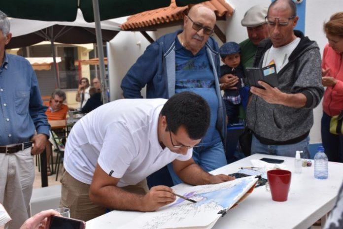 Encontro de Aguarela em Santa Cruz