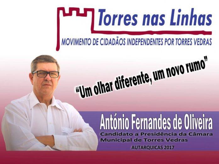Autárquicas 2017 - Torres Nas Linhas - As candidaturas de Cidadãos Independentes