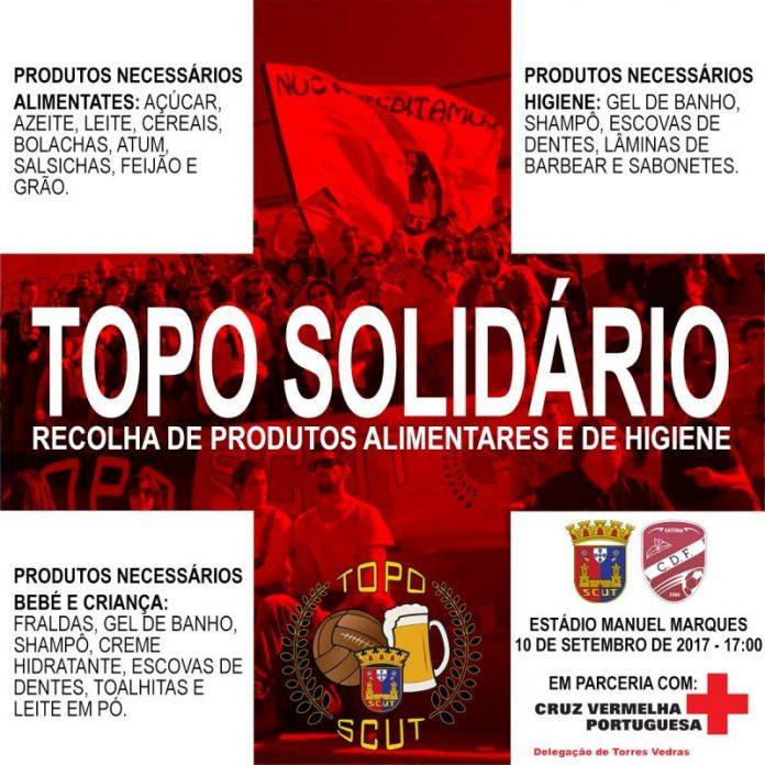 Topo Solidário...domingo no Manuel Marques