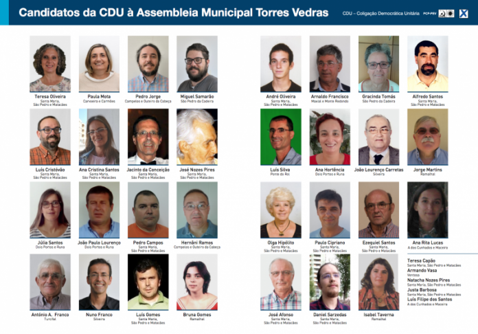 Autárquicas 2017 - CDU - Confiança para mudar Torres Vedras