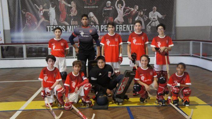 Hóquei Patins - Sub-13 - Física 10 - 3 Sporting Torres