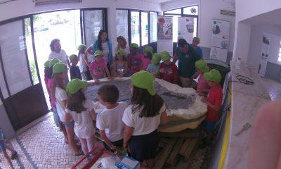 Mais de 3000 pessoas participaram no Espaço dos Dinossauros em Santa Cruz