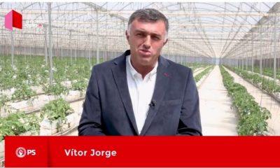 Autárquicas 2017 - PS - Vítor Jorge apoia Carlos Bernardes