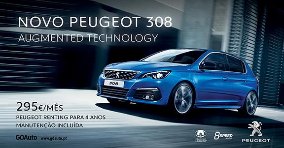 Novo Peugeot 308 na GDAuto