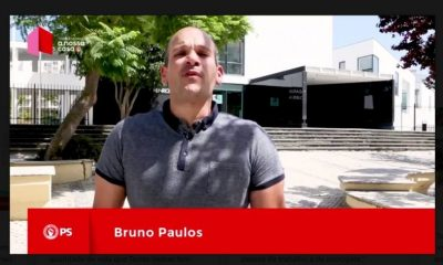 Autárquicas 2017 - PS - Bruno Paulos apoia o Partido Socialista