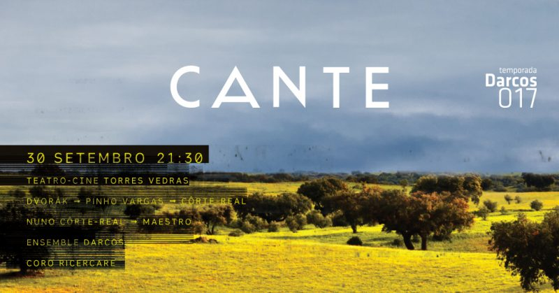 30 de Setembro no Teatro-Cine Concerto Temporada Darcos - CANTE