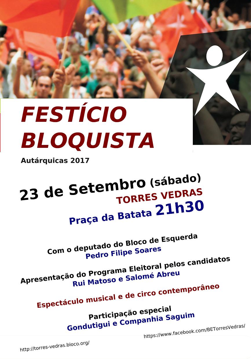 Arruada e Festício Bloquista Hoje