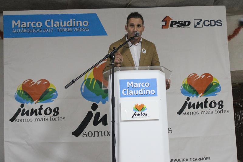 Autárquicas 2017 - PSD/CDS - Freiria está com Pedro Bernardes e Marco Claudino