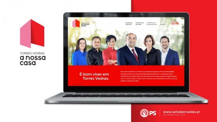 Autárquicas 2017 - PS apresenta website