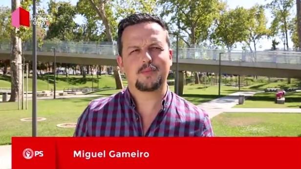 Autárquicas 2017 - PS - Miguel Gameiro apoia Carlos Bernardes