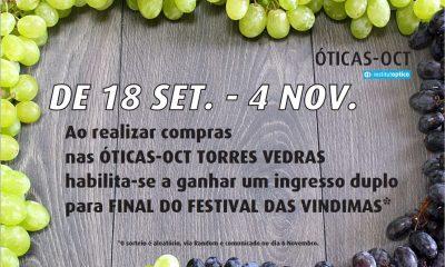 OCT oferecem entrada dupla para Festival das Vindimas