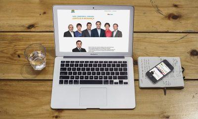 Coligação lança site e apresenta Manifesto Eleitoral