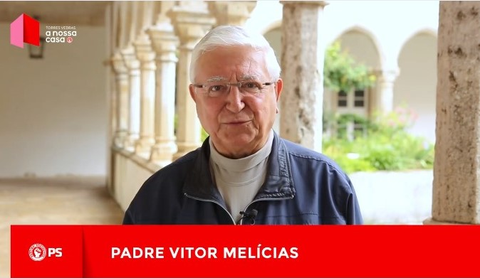 Autárquicas 2017 - PS - Padre Vítor Melícias apoia Carlos Bernardes