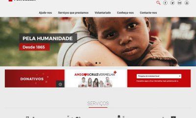 Cruz Vermelha com novo Portal