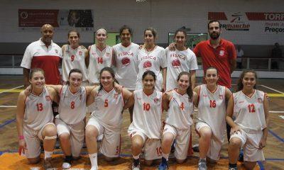 Basquetebol feminino - Física perde na estreia