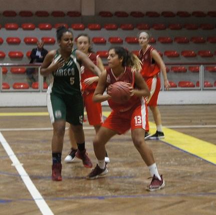 Física afastada da Taça de Portugal em Basquetebol feminino