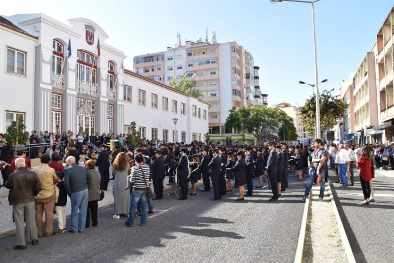Desfile de bandas dia 5 novembro