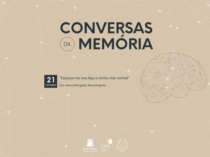 Conversas da Memória - sábado 21 Outubro