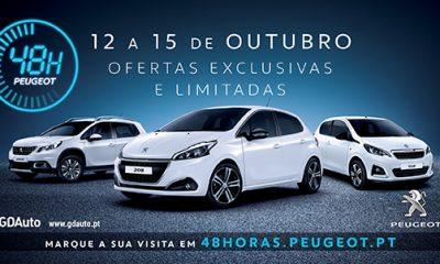 48H Peugeot - 4 dias de vantagens únicas