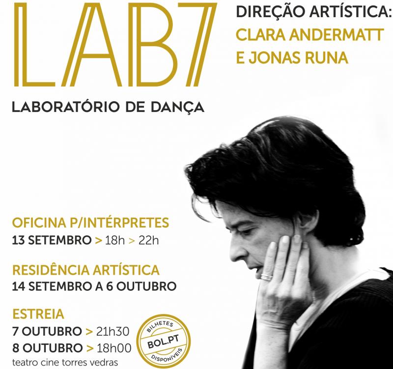 LAB 7 este fim de semana no Teatro Cine