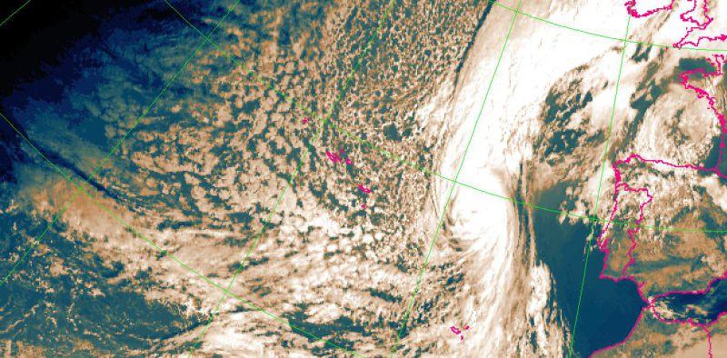 Furacão Ophelia deixa Açores sem ocorrências