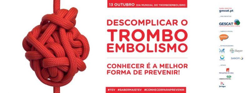 13 de Outubro dia do Tromboembolismo