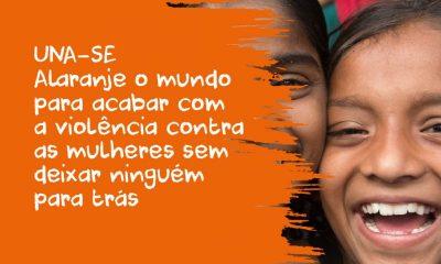 """Dianova incentiva a """"pintar o mundo de laranja"""" para combater a violência contra a mulher"""
