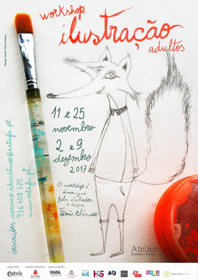 Workshop de ilustração na ESTUFA