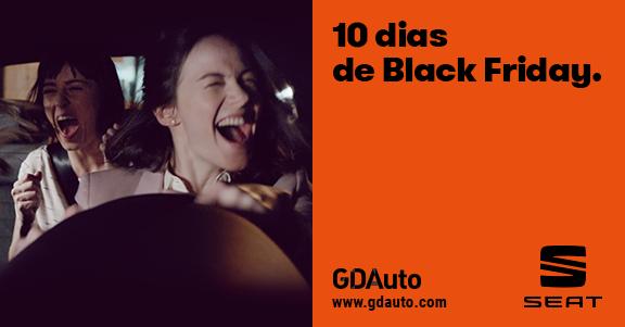 GDAuto Seat com 10 dias de Black Friday