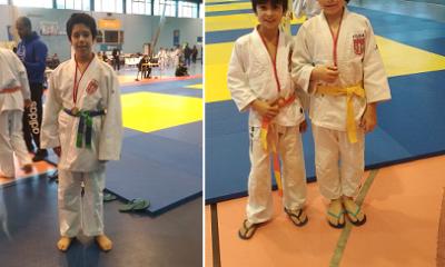 Medalhas de Bronze para judocas da Física