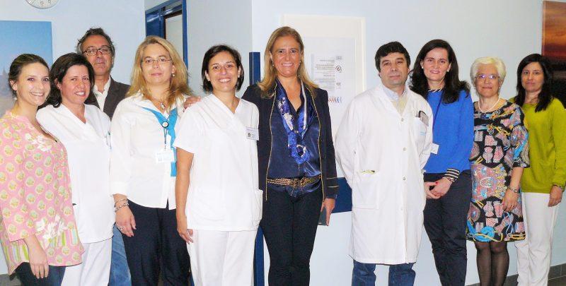 Certificação no Hospital de Torres Vedras