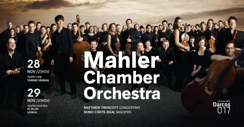 Mahler Chamber Orchestra dia 28 Novembro no Teatro Cine