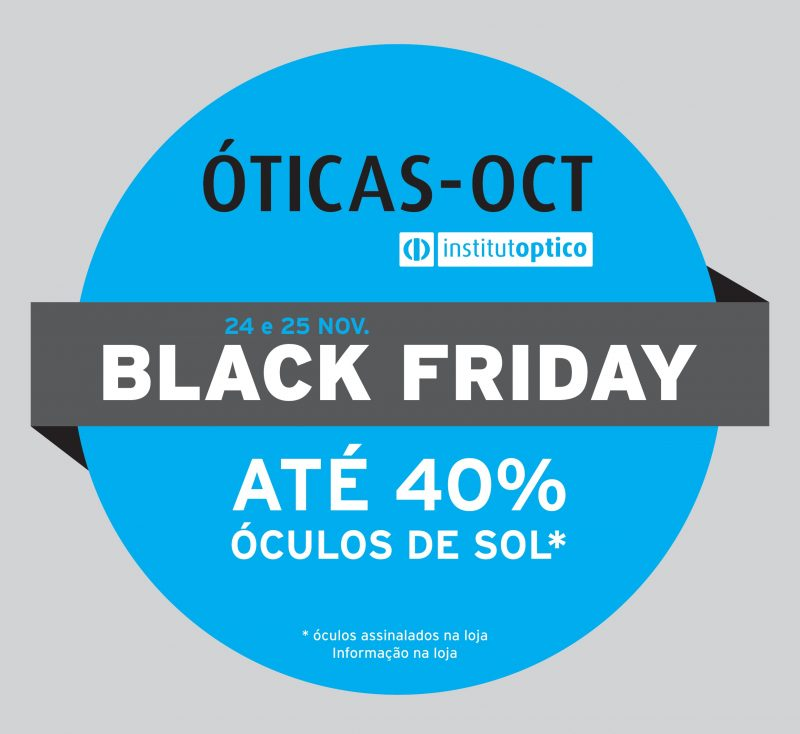 Black friday nas Óticas OCT